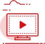 Иконка экрана с кнопкой play