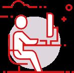Иконка компьютерного стола